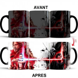 Mug thermosensible qui change de couleur - Star Wars 9 Le réveil de la force