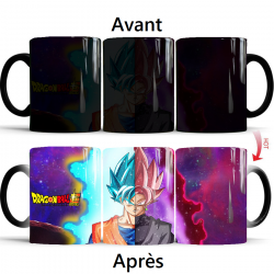 Mug qui change de couleur Dragon Ball Super Goku Black