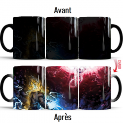Mug thermochromique Dragon Ball Z Goku VS Freezer
