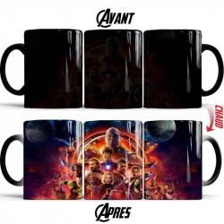 Mug magique Avengers 3