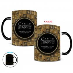 Mug magique Game Of Thrones Emblèmes des royaumes de Westeros