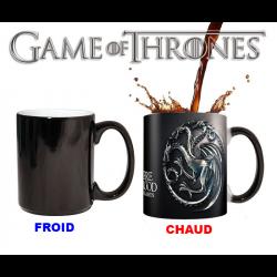 Mug thermosensible Game Of Thrones - Emblème de la Maison Targaryen