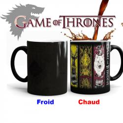 Mug magique emblèmes Game Of Thrones
