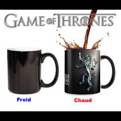Mug thermoractif Game of Thrones Emblème de la Maison Lannister