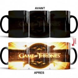 Mug Magique  Game Of Thrones Anneaux du générique