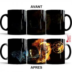 Mug thermoréactif Game Of Thrones Jon Snow et Daenerys Targaryen