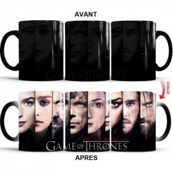 Mug thermochromique Game Of Thrones Tu gagnes ou tu meurs