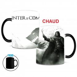 Mug qui change de couleur Game of Thrones Winter is coming