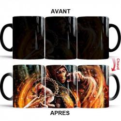 Mug thermoréactif Mortal Kombat