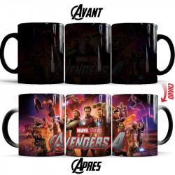 Mug thermoréactif Avengers 4
