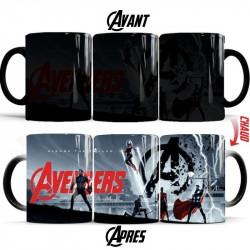 Mug thermoréactif Avengers - Avenge the fallen