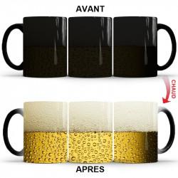 Mug magique verre de bière