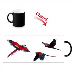 Mug thermoreactif Perroquet