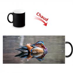 Mug thermoreactif canard