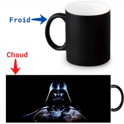 Mug magique thermoréactif Dark Vador Coté obscur