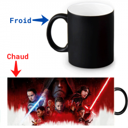 Mug magique thermoréactif Le dernier Jedi