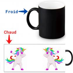 Mug magique Licorne qui danse