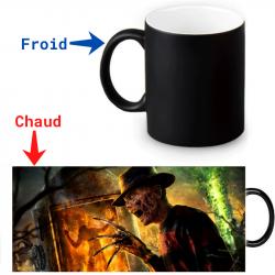 Mug thermoreactif Freddy Krueger