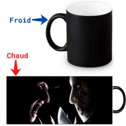 Mug Thermoréactif Freddy Krueger versus Jason