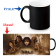 Mug thermochromique Lord of the rings - La communauté de l'anneau