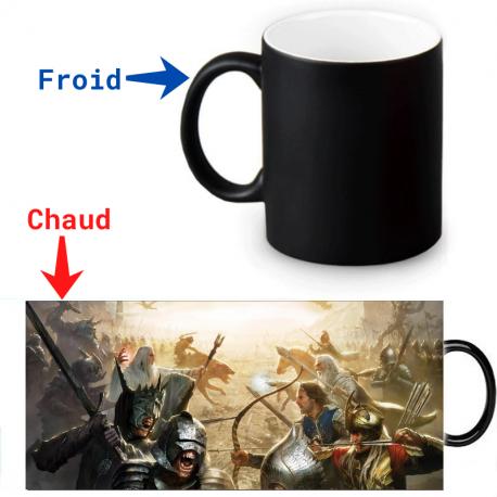 Mug magique - Bataille de Minas Tirith