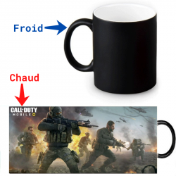 Mug magique Call Of Duty