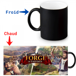Mug thermoréactif Forge Of Empires