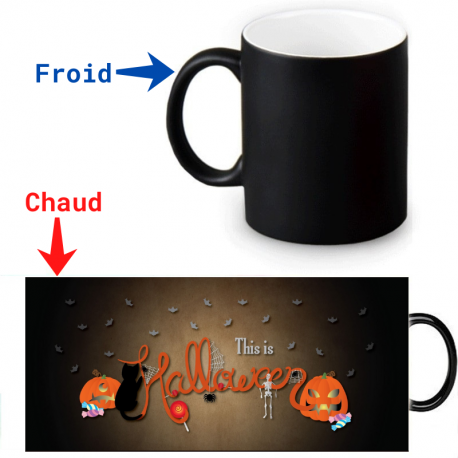 Mug magique This is Halloween