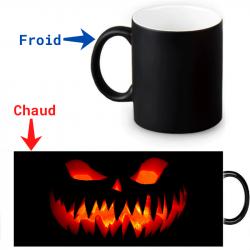Mug thermoreactif Grin Halloween