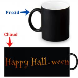 Mug magique Happy Halloween
