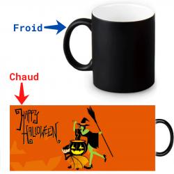 Mug thermoreactif  Sorcière Halloween
