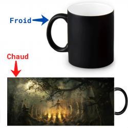 Mug thermoreactif  rituel Halloween
