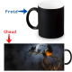 Mug thermoreactif  épouvantail Halloween