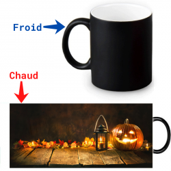 Mug thermoreactif  Joyeux Halloween