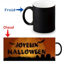 Mug magique Joyeux Halloween
