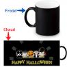 Mug thermoreactif monstres Halloween mignons