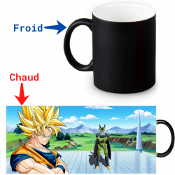 Mug qui change de couleur Goku versus Cell