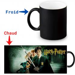 Mug thermoréactif Harry Potter  et la chambre des secrets