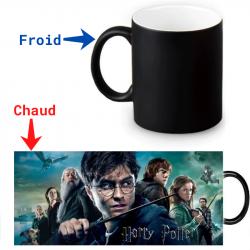 Mug thermoréactif Harry Potter Les répliques de la mort Partie 1