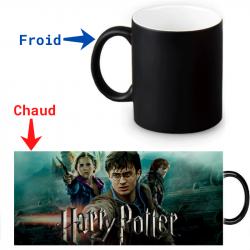 Mug thermoréactif Harry Potter Les répliques de la mort Partie 2