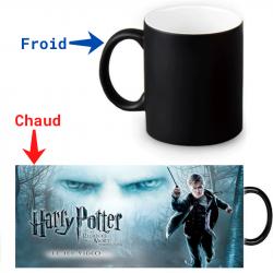 Mug thermoréactif Harry Potter Les répliques de la mort première partie