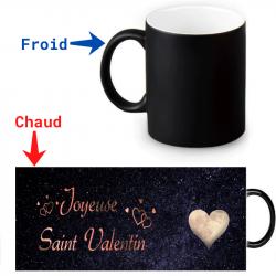 Mug thermoréactif Joyeuse  Saint-valentin