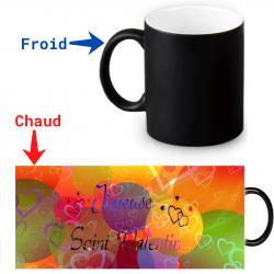 Mug Thermoréactif pour la Saint-Valentin