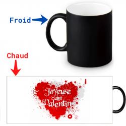 Mug magique pour la Saint-Valentin