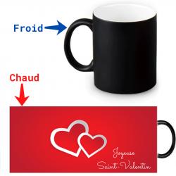 Mug magique - Jour de la Saint-Valentin