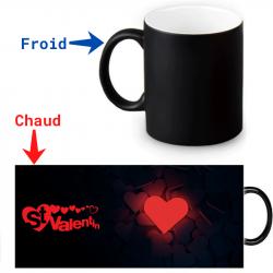 Mug thermochromique  - Jour de la Saint-Valentin