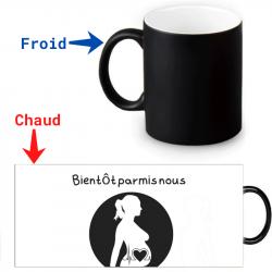 Mug Thermoréactif - Annonce naissance