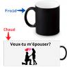 Mug Thermoréactif - Demande en mariage